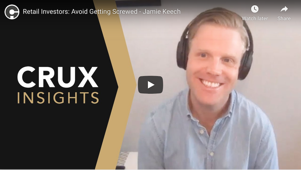 Crux Investor - Jamie Keech